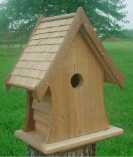 Cottage Bird House Cedar Roof
