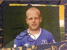 Signiertes Foto Steven Naismith FC Everton NEU