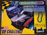 Slot car set 1/32 Scalextric C1133 Pony Car Wars '69 Challenge Vintage NIB.