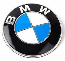 Logo BMW 82mm Insigne Capot Emblème E46 E90 E92 E60 E34 E36 E39 X3 X5 X6.