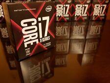 NEU Intel Core I7 7820X CPU S. 2066 Prozessor SkyLake X Core 8x 3,6Ghz - 4,5Ghz