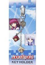 Angel Beats keychain key ring strap Tachibana Kanade Tenshi Nakamura Yuri anime
