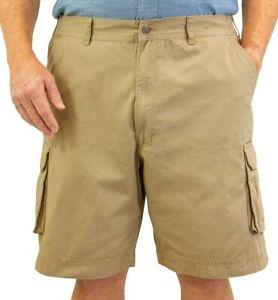 Big & Tall Sizes 42 - 72 Men's ROCXL Cargo Shorts Expandable Waist