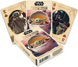 Aquarius Star Wars Mandalorian The Child Baby Yoda Grogu Playing Cards