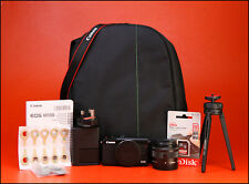 Canon EOS M100 Mirrorless DSLR Camera + EF-M 15-45mm IS STM Lens Kit + Tripod