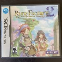 Rune Factory 2: A Fantasy Harvest Moon (Nintendo DS, 2008) COMPLETE-Tested