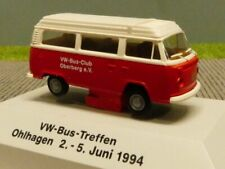 1/87 Brekina VW T2 Bus Club Oberberg Camper Sonderpreis 9,99 STATT 16 €