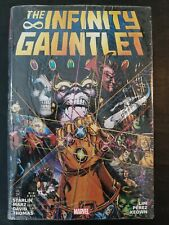 The Infinity Gauntlet Omnibus by Starlin, Marz, David, Thomas (New+Sealed)