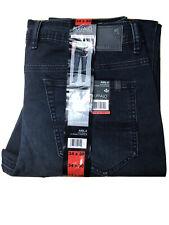 NEW! Buffalo David Bitton Men's Axel-X Slim Stretch Jeans 34x30 DARK BLUE
