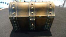 Vintage Perfume Treasure Chest Bija Trinket Box or Perfume Box
