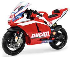 PEG PEREGO 12V DUCATI MOTO GP MOTORCYCLE KIDS BIKE BATTERY RIDE ON TOY