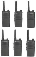 Motorola RMU2040 UHF Professional Business Two Way Radios UHF 4 Channel Qty 6