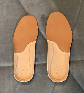 Mens UGG Australia Natural Leather and form Insoles Size 7-8