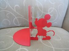 MICHAEL GRAVES Mickey Mouse Collection Red Metal Bookend - One Bookend Only