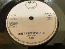 T.Rex - RIDE A WHITE SWAN - IS IT LOVE - SUMMERTIME BLUES - 1970 - EXCELLENT