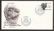 United Nations. Switzerland, Geneva Offices. 1978 FDC. Tree of Doves