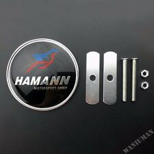 Hamann Car Front Grille Grill Emblem Badge Decal Sticker Fit For M2 M6 X5 Z4
