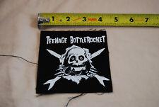 TEENAGE BOTTLEROCKET Skull Ripper PATCH bad religion nofx pennywise descendents