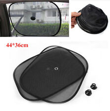 2x Car Auto Side Window Black Mesh Sunshade Visors Anti-UV Cover Car Accessories