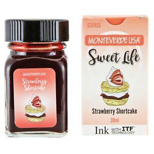 Monteverde - Sweet Life - Bottled Ink - Strawberry Shortcake - 30mL NEW