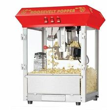 Vintage 8 Oz Red Hot Kettle Popcorn Machine Popper Maker Funtime Movie Style