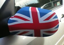 CAR WING MIRROR SOCKS FLAGS, COVERS, FLAG-UPS! - UNITED KINGDON ~ UNION JACK UK
