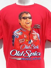 New TONY STEWART NASCAR OLD SPICE RACING Red sz XL T-SHIRT  NWOT