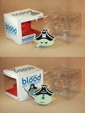 "Frank Kozik SIGNED Kidrobot 6"" Captain Blood Big Monger AUTOGRAPHED"