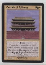 1995 Shadowfist Collectible Card Game #NoN Curtain of Fullness Gaming 2ts