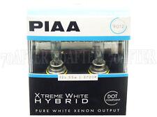 Piaa 3700K XTreme White Hybrid DOT Halogen Headlight Light Bulbs - 9012
