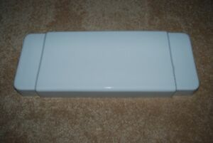 Case 1000 White Toilet Tank Lid - EX. CONDITION, FULLY SANITIZED (Robinson, Ill)