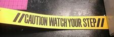 "3"" Non Skid Anti Slip Traction Tape CAUTION WATCH YOUR STEP 20 foot roll"