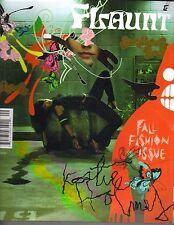 KATIE HOLMES Flaunt Magazine 9/03 #47 DITA VON TEESE 14 PGS SHALOM HARLOW PC