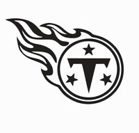 Tennessee Titans NFL Football Vinyl Die Cut Car Decal Sticker - FREE SHIPPING