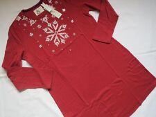 Triumph Nachthemd Sleepshirt SCHNEEFLOCKE, Gr. 42, rot/ weiss, NEU, 1A-Ware