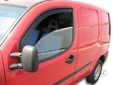 FIAT DOBLO 2 door 2001-2010 Front wind deflectors 2pc set TINTED HEKO