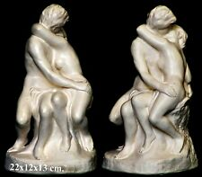 The Kiss Sculpture by August Rodin. Scale copy Statue made in Sydney 22x12x13cm