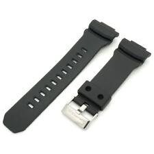 Genuine Casio Black Rubber Watch Band Strap G-Shock Ana-Digi GA-200-1A GA-201-1A