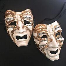 Venetian Commedia-Tragedia Drama Musica Renaissance Masquerade Masks