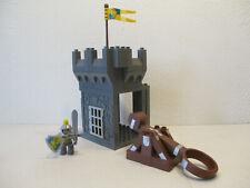 ( RB6 / 8 ) LEGO Duplo Turm mit Katapult und  Ritter Ritterburg   4672 4777 4785