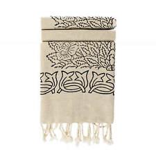 Block Print Cotton Linen Turkish Peshtemal I Hammam Peshtemal I Beach Towels
