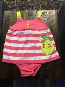 Baby Girl's Carter's Romper Size 18 Months
