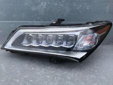 14 15 16 ACURA MDX LED HID HEADLIGHT LEFT DRIVER COMPLETE USED OEM