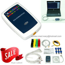 ECG EKG Workstation examination System Recorder EKG 12-lead Resting PC Software