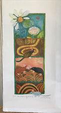 "Judith Bledsoe "" A Labor of Moles""  signed Ltd. Edition Lithograph 2/300"