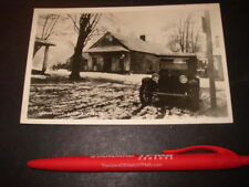 Unposted Postcard of 1920s Vintage Auto in a Snowy Setting-possibly Dodge Bros.