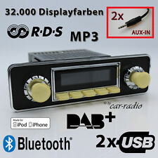 Retrosound San Diego DAB + SET COMPLETO Trim Oldtimer Radio USB mp3 Bluetooth