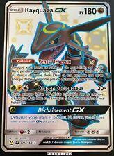 Carte Pokemon RAYQUAZA 177a/168 GX Full Art FA SECRETE SL11.5 FR NEUF JUMBO