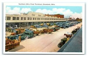 Postcard Northern Ohio Food Terminal, Cleveland OH T6