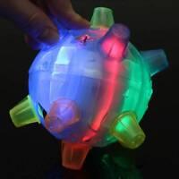 Jumping Joggle Bopper Flashing Light Up Bouncing Sound Kid Vibrating Toy Ball !